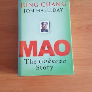 (HARDCOVER) Mao - The Unknown Story by Jung Chang