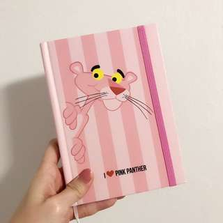 Pink panther notebook hardcover