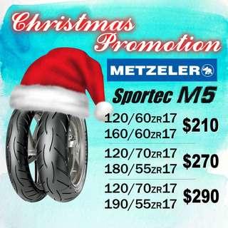 Metzeler Xmas Promotion Sportec M5