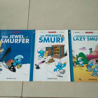Pre- owned/Used  - Smurf Comics Book 17, 18, 19