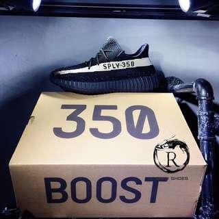🚚 Adidas Yeezy 350 Boost V2 椰子350 黑白