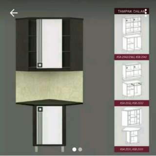 Kitchen set sudut infinity