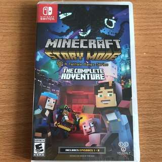 Nintendo Switch Minecraft Story Mode