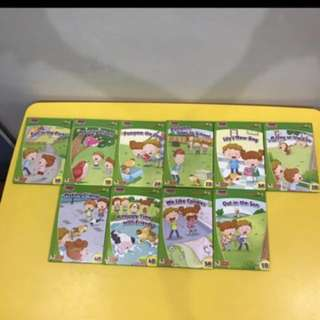 Like New Robin Key Words With Robin Touch Me First 10 Books Set Easy Start X 10 English Book Key Sight Word