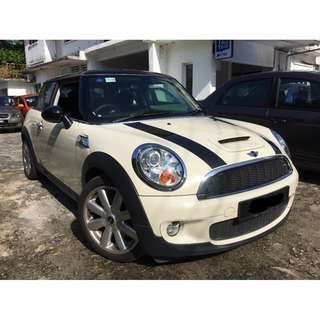 MINI COOPER S 1.6 (A) 2008 (38,000KM) ONLY !!!...