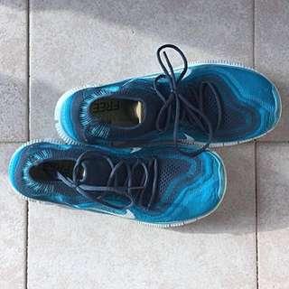Nike flyknit 5.0 天藍色