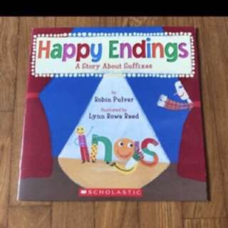 Brand New Scholastic Happy Ending A Story About Suffixes