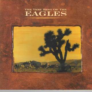 CD ALBUM - THE EAGLE - THE VERY BEST OF THE EAGLES - //BOX Z ////