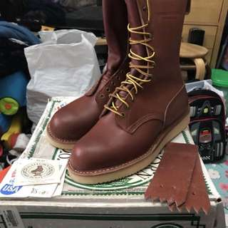 "White's Hathorn 10"" height work boots,size 9F (not red wings , wesco, buco , viberg, Alden , sugarcane, buzz RICKSON, buco)"