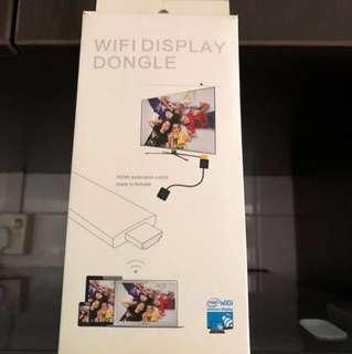 Wifi display dongle
