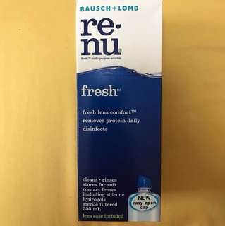 Renu Contact Lens Solution sealed