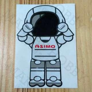 STIKER ASIMO TAKE OFF