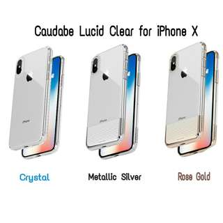 Caudabe Lucid Clear for iPhone X