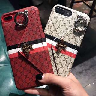 (PO) Gucci Inspired Card Pouch iPhone Casing