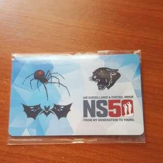 NS50 Ez Link card. Ltd Edition