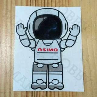STIKER ASIMO RISE HAND
