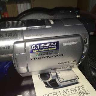 Camera sony handy cam fullset