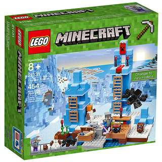 Christmas SALE !!!!!!!!! LEGO MINECRAFT The Ice Spikes (21131)