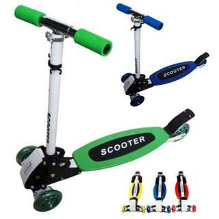 (CLEARING) Directional Folding Scooter For Children