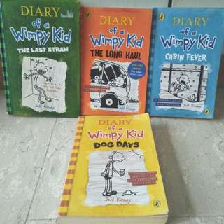 Series if Diary of a Wimpy Kids