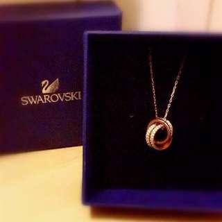 🈹美品SWAROVSKI斯華洛水晶頸鏈💜💜💜