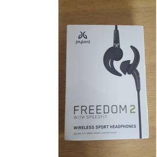 JAYBIRD FREEDOM 2 BRAND NEW WITH WARRANTY ONE YEAR
