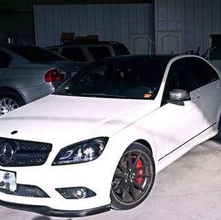 自售 賓士Mercedes-Benz W204 C300 重金改裝