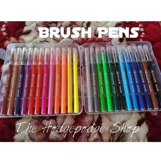 Grasp Brush Pens set of 24s + FREE Calligraphy worksheets