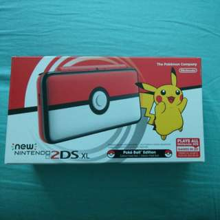 Pokemon pokeball limited Edition 2ds