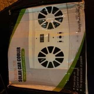 solar cooler interior of car