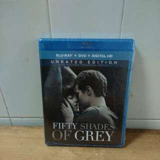 Fifty Shades of Grey - Blu-ray & DVD - US Import (original)
