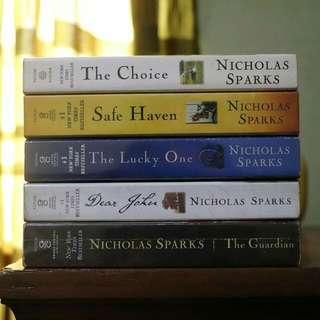 Nicholas Sparks Book Bundle