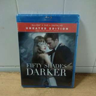 Fifty Shades Darker - Blu Ray & DVD - US Import (original)