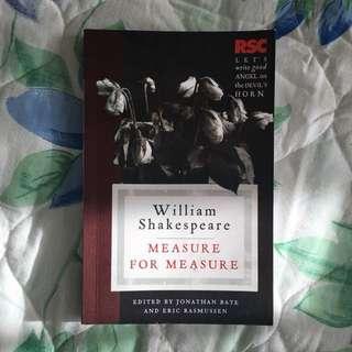 Measure for Measure William Shakespeare