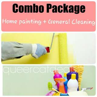 Home painting &cleaning package