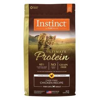 美國 Instinct 本能 原點 皇極 極致鮮肉 無穀雞肉 無穀 天然糧 全貓配方 真空分裝包 500g