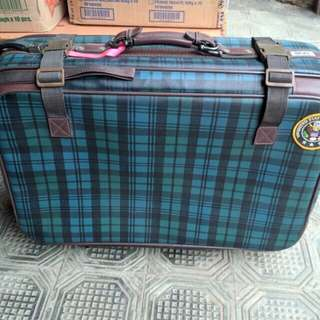 Suitcase - Made of Leather, Big