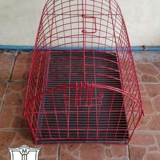 Dog Cage with FREE dog bowl