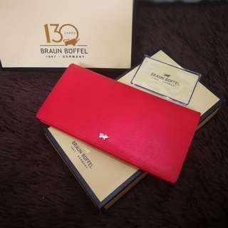 Braun Buffel Fold Long Wallet