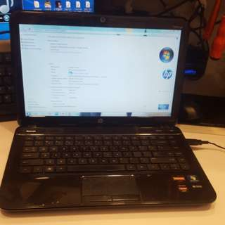 Gamming hp pavilion g4 amd a6 with ati hd 7670