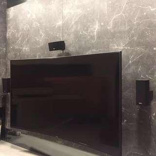 BOSE 5.1 & Samsung 65inch curved UHD TV bundle deal + free Apple TV