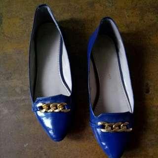 Flatshoes YK Blue