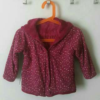 Reversible baby jacket - Mothercare