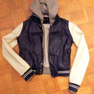 Obey pleather jacket