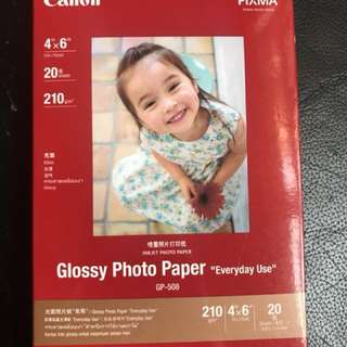 Canon相紙 GP-508 size 4x6