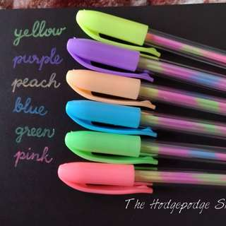 Pastel Pens with hardcase