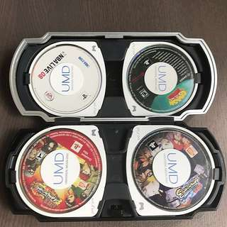 PSP Games With UMD Game Box