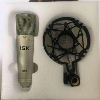 Mic condenser ISK + shock mount