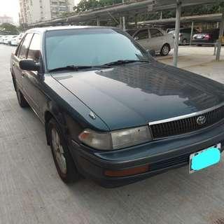 TOYOTA  可樂娜 1600c.c 手排車  1995年   32萬多公里