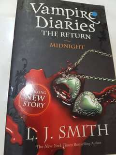 Vampire Diaries... the return midnight L.J.SMITH